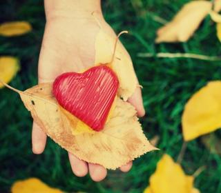 I Heart Autumn - Obrázkek zdarma pro 208x208