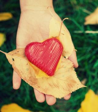 I Heart Autumn - Obrázkek zdarma pro Nokia X6