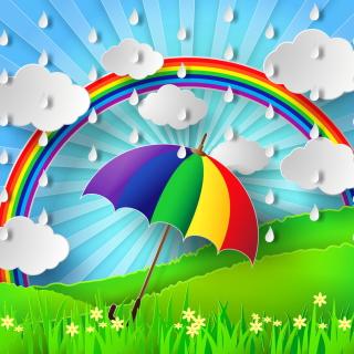 Rainy Day - Obrázkek zdarma pro 2048x2048
