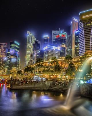 Singapore - Obrázkek zdarma pro Nokia Asha 306