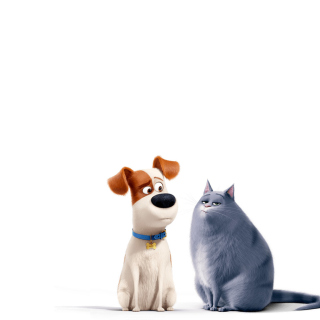 The Secret Life of Pets Max and Chloe - Obrázkek zdarma pro iPad