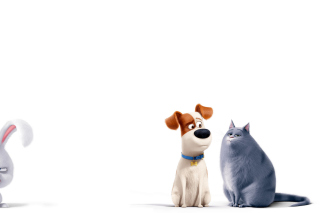 The Secret Life of Pets Max and Chloe Background for Android, iPhone and iPad
