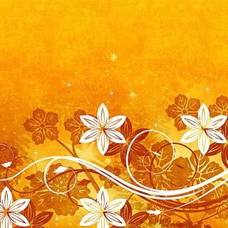 Yellow Patterns - Obrázkek zdarma pro 208x208