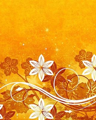 Yellow Patterns - Obrázkek zdarma pro iPhone 5C