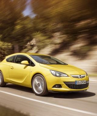 Opel Astra GTC - Obrázkek zdarma pro 240x320