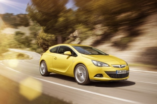 Opel Astra GTC Background for Android, iPhone and iPad
