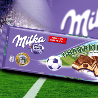 Milka Chocolate - Obrázkek zdarma pro 320x320