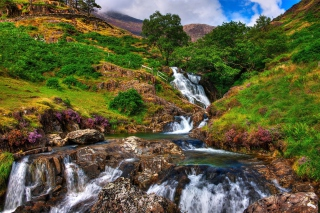 Snowdonia National Park in north Wales - Obrázkek zdarma pro Widescreen Desktop PC 1280x800