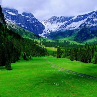 Alps Mountain - Obrázkek zdarma pro iPad 2