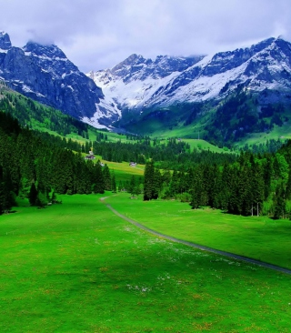 Alps Mountain - Obrázkek zdarma pro Nokia X3-02