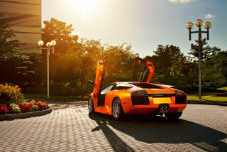 Lamborghini Murcielago Background for Android, iPhone and iPad