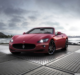 Maserati Grancabrio Sport - Obrázkek zdarma pro iPad