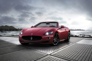 Maserati Grancabrio Sport - Obrázkek zdarma pro 220x176