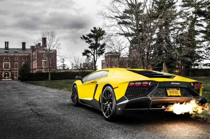 Fondo de pantalla Lamborghini Aventador LP720 4