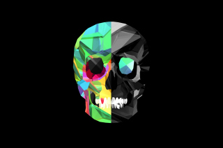 Skull Art Wallpaper for Android, iPhone and iPad