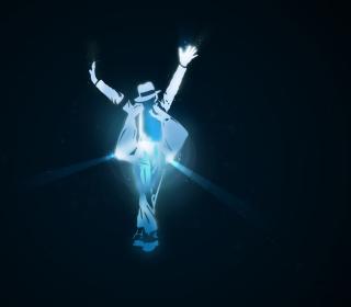 Michael Jackson Dance Illustration - Obrázkek zdarma pro iPad mini
