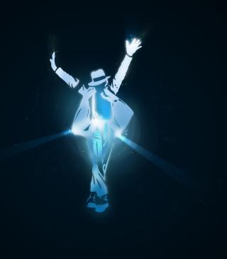 Michael Jackson Dance Illustration - Obrázkek zdarma pro Nokia Asha 305