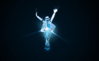 Michael Jackson Dance Illustration - Obrázkek zdarma pro 1152x864