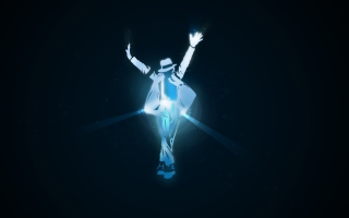 Michael Jackson Dance Illustration - Obrázkek zdarma pro Sony Xperia Z3 Compact
