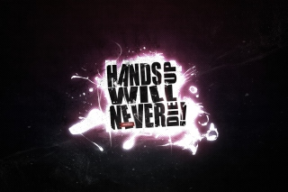 Free Hands Up Will Never Die Picture for Android, iPhone and iPad