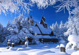 Wang Temple Poland Picture for Android, iPhone and iPad