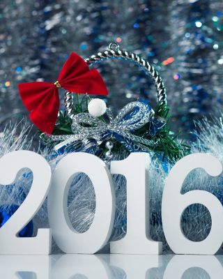 Happy New Year 2016 Wallpaper - Obrázkek zdarma pro iPhone 5S