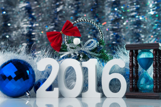 Happy New Year 2016 Wallpaper - Obrázkek zdarma pro Widescreen Desktop PC 1680x1050