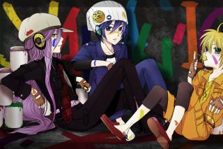 Vocaloid Kagamine rin - Obrázkek zdarma pro HTC Wildfire