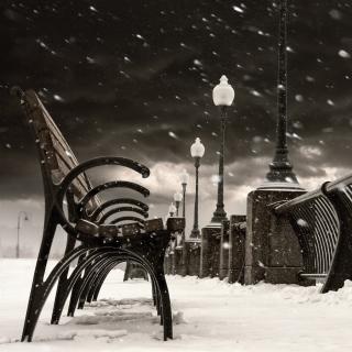 Montreal Winter, Canada - Obrázkek zdarma pro iPad mini 2
