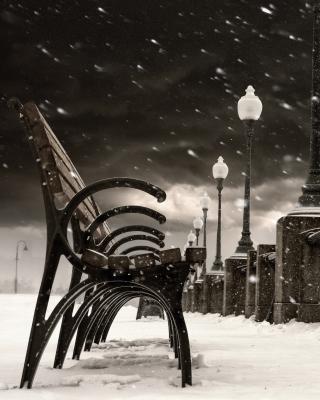 Montreal Winter, Canada - Obrázkek zdarma pro Nokia C5-03