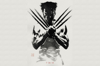 The Wolverine 2013 - Obrázkek zdarma pro Android 1440x1280