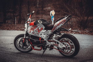 Kawasaki Ninja - Obrázkek zdarma pro LG P700 Optimus L7