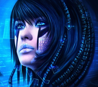 Sci-Fi Portrait - Obrázkek zdarma pro 208x208