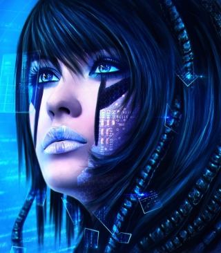 Sci-Fi Portrait Picture for 480x854