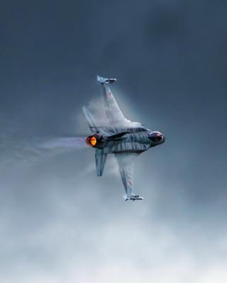 F 16 Fighting Falcon - Obrázkek zdarma pro 320x480