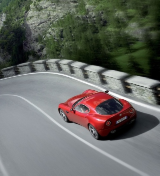 Red Alfa Romeo - Obrázkek zdarma pro 1024x1024