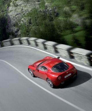 Red Alfa Romeo - Obrázkek zdarma pro Nokia Asha 300