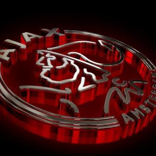 AFC Ajax Logo - Obrázkek zdarma pro iPad