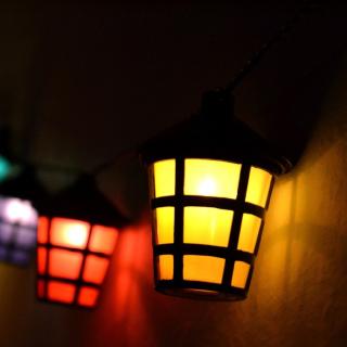Lamps Lights - Obrázkek zdarma pro 208x208