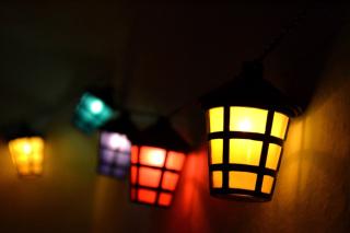 Lamps Lights - Obrázkek zdarma pro Nokia Asha 200