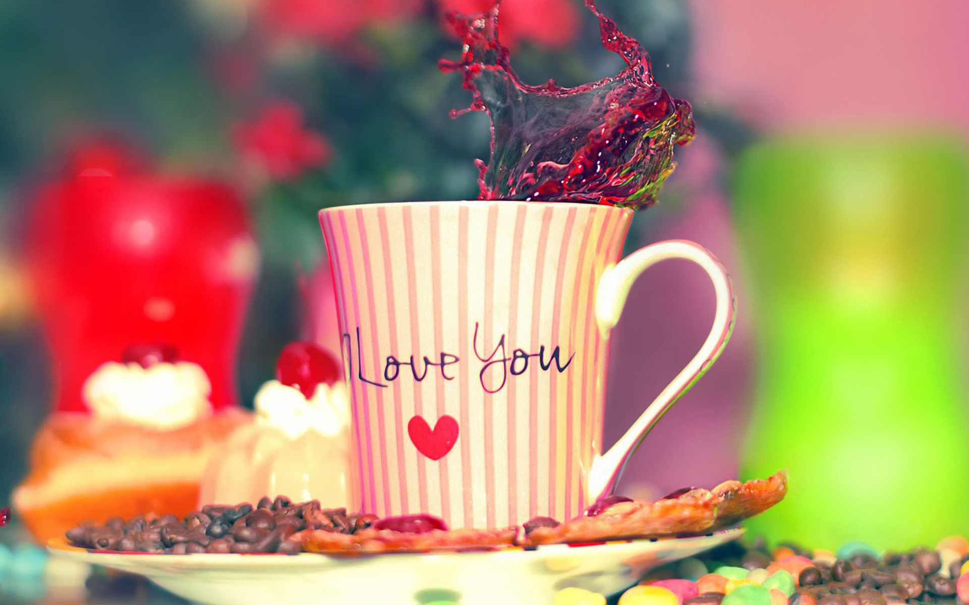 Good Morning! I Love You Wallpaper for Widescreen Desktop Pc 1920x1080 Full HD