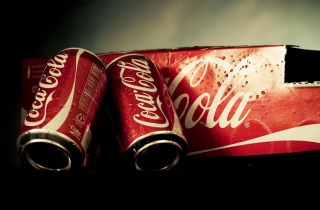Free Coca Cola Cans Picture for Android, iPhone and iPad