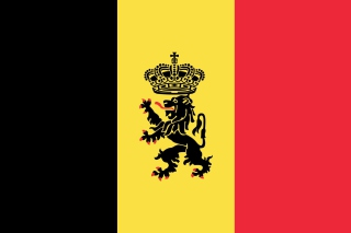 Belgium Flag and Gerb Background for Android, iPhone and iPad