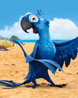 Rio Character Blu - Obrázkek zdarma pro 176x220