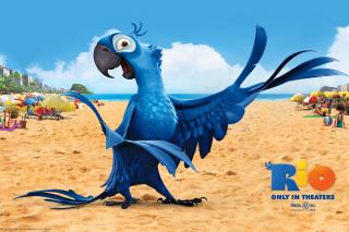Rio Character Blu - Obrázkek zdarma pro Motorola DROID 3