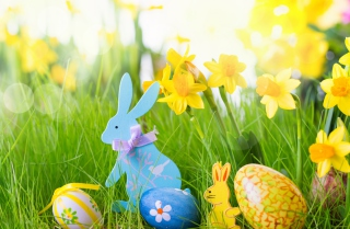 Easter Time Background for Android, iPhone and iPad