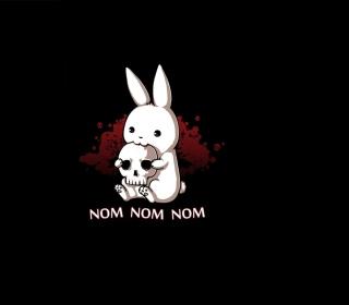 Blood-Thirsty Hare - Obrázkek zdarma pro iPad