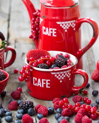 Berries Harvest - Obrázkek zdarma pro Nokia Asha 308