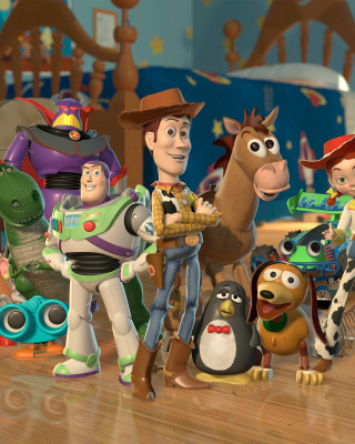 Toy Story - Obrázkek zdarma pro Nokia C2-03