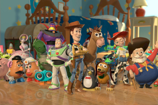 Toy Story - Obrázkek zdarma pro Fullscreen 1152x864